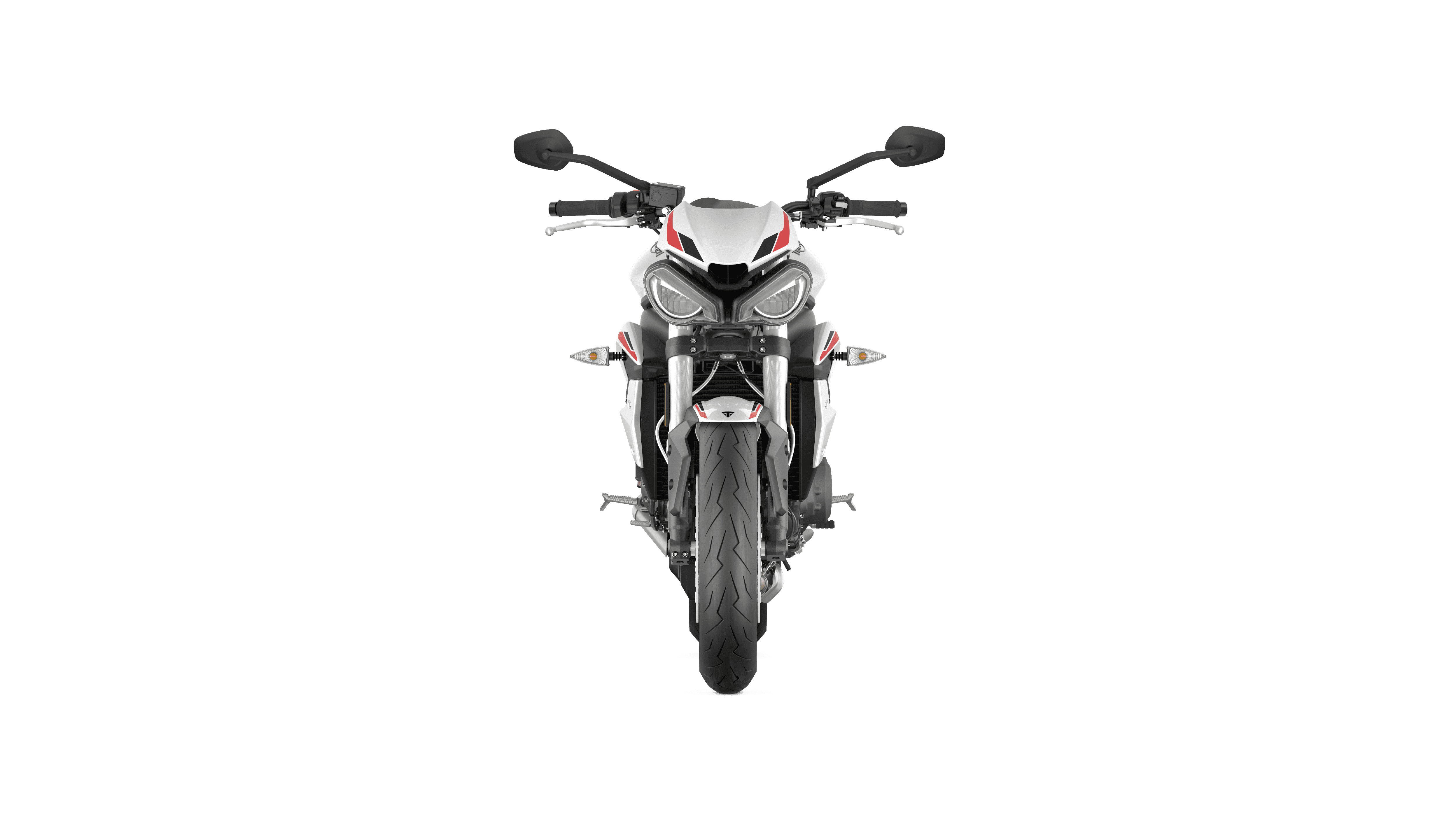Street Triple S MY20 White Front