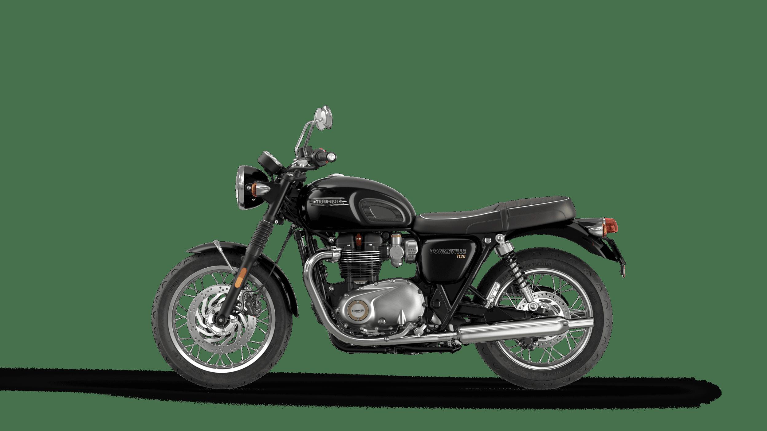 triumph bonneville t120 negru LHS 2