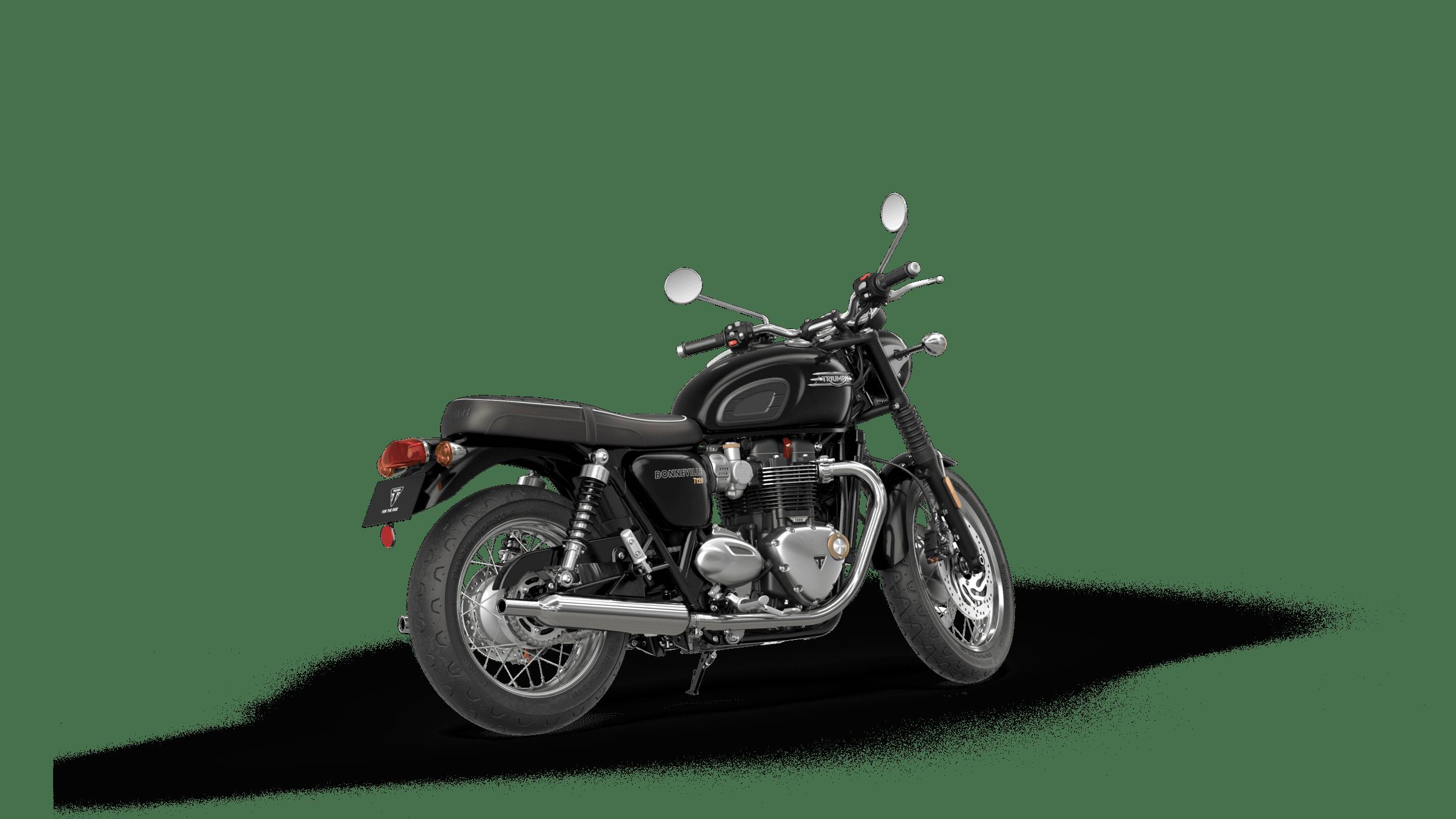 triumph bonneville t120 negru LHS 4