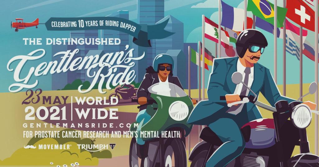 Distinguished Gentelmens Ride Triumph 2021 1