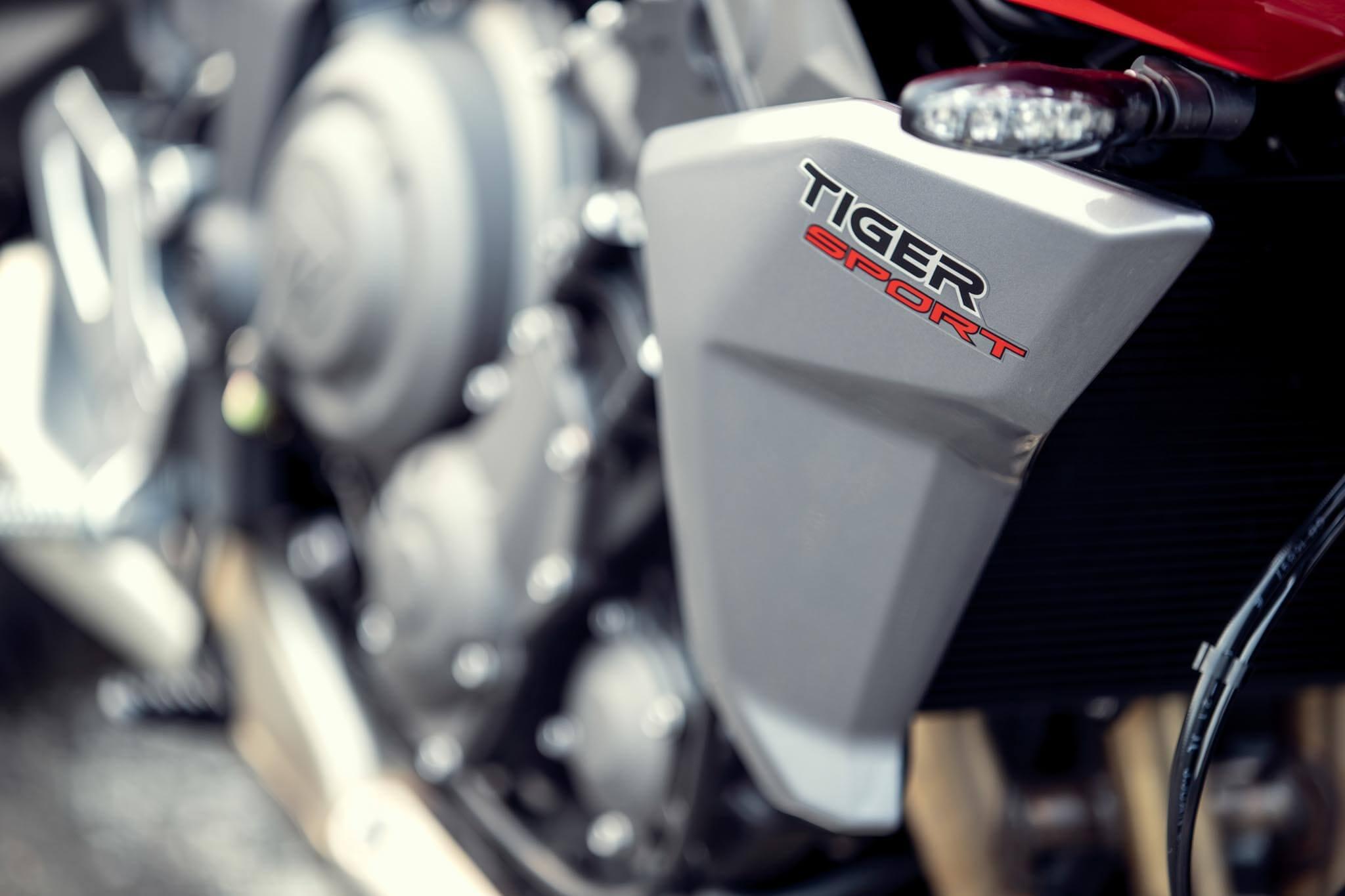 Tiger Sport 660 MY22 Detail BA8I7648 PB